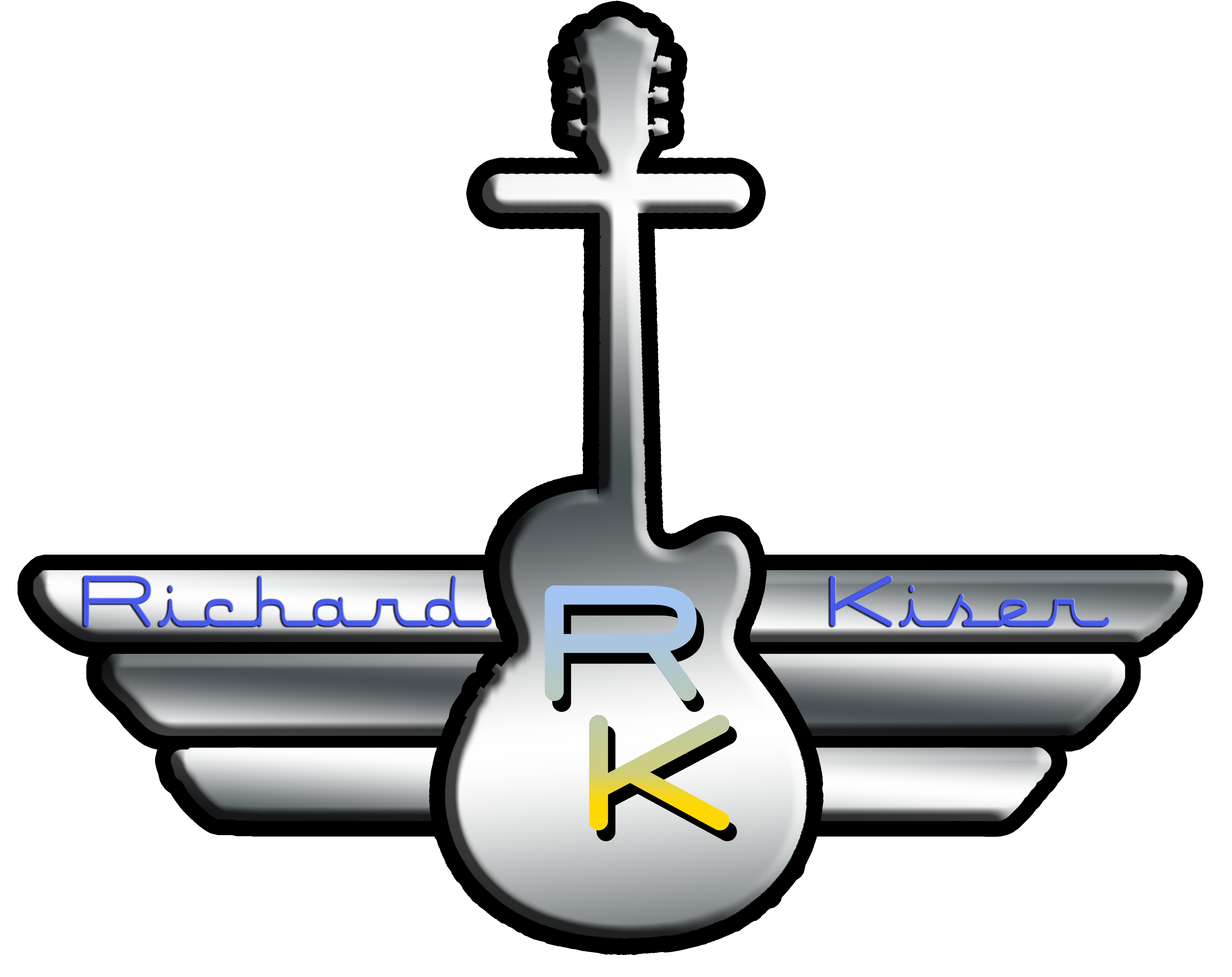 RichardLogoChromeCross